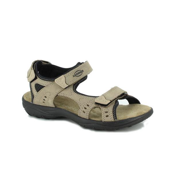 1-6917-Miriam-Damen-taupe-braun-Sandale-Leder