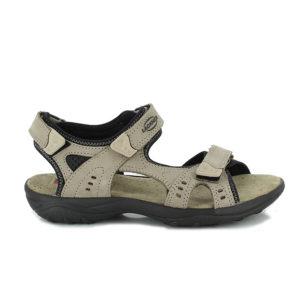 2-6917-Miriam-Damen-taupe-braun-Sandale-Leder
