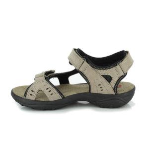 4-6917-Miriam-Damen-taupe-braun-Sandale-Leder