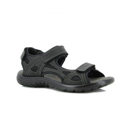 Sandale Lorenzo schwarz