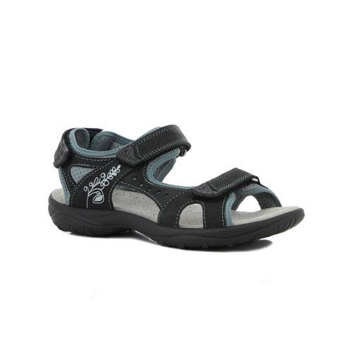 Sandale Miriam schwarz-grau