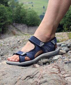 Sandale Miriam blau