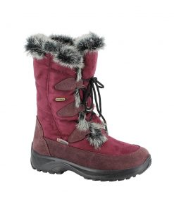 Winterstiefel Renate TX Spikes bordo