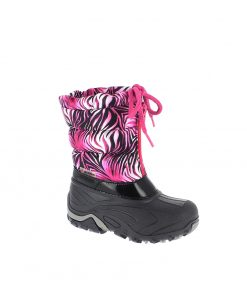 Winterschuh Flash pink-schwarz