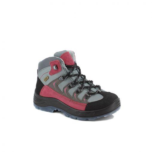 Wanderschuh Micky TX grau-pink