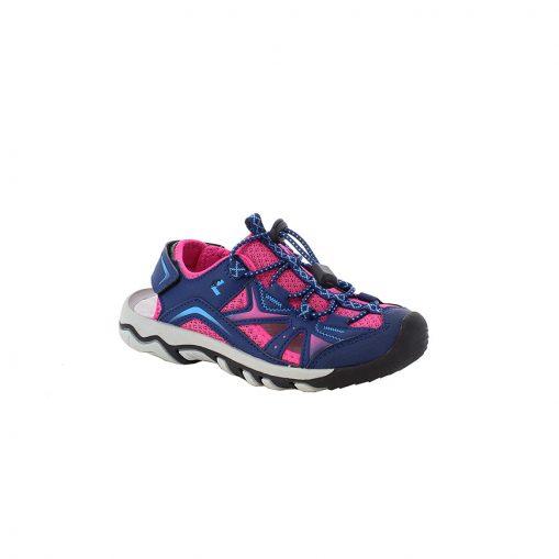 Sandale Happy blau-pink