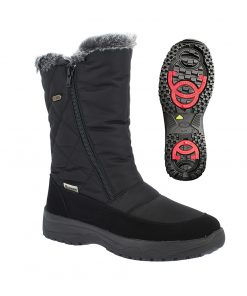 Winterstiefel Wally TX Spikes schwarz